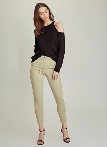 NGSTYLE Skinny 5 Cepli Basic Pantolon Yeşil